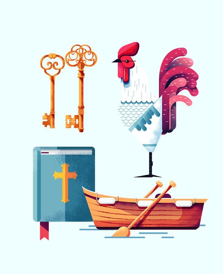 Folio illustration agency, London, UK | Mat Franchi - Digital,  futuristic, texture
