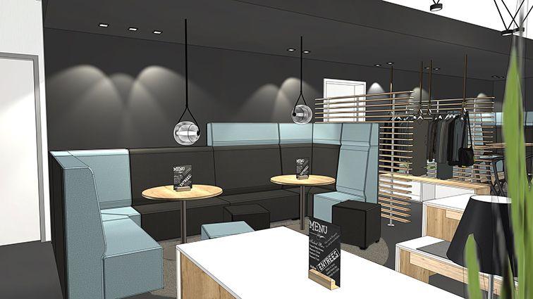 restaurant einrichten gem tliche nischen mit dem hochlehnensofa talkline sorgen f r. Black Bedroom Furniture Sets. Home Design Ideas