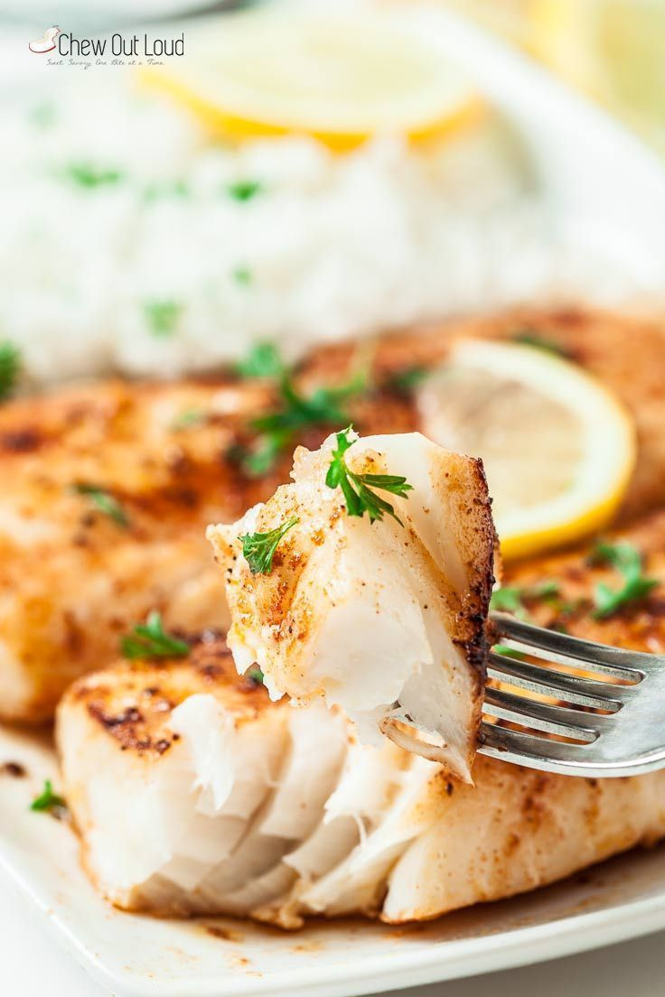 Easy Lemon Butter Fish in 15 Minutes - Seafood -