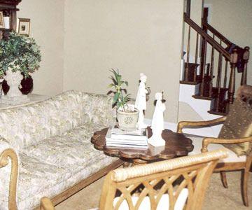 Before: Drab Living Room