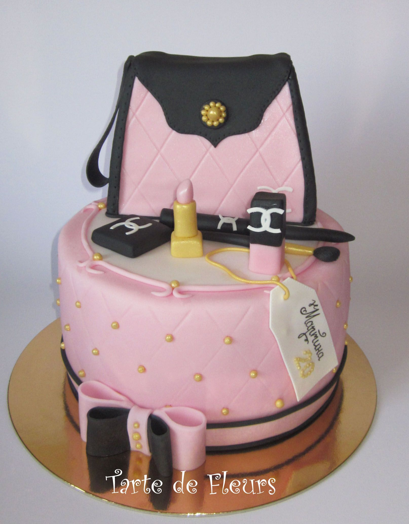 Purse And Make Up SHOES PURSES  BAGS OH MY Pinterest - Purse birthday cake ideas