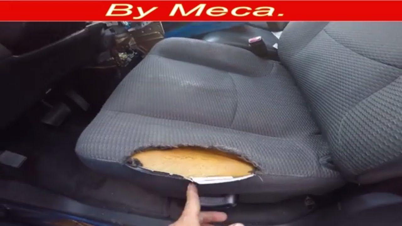 Amazing How To Fix A Torn Car Seat And Repair The Foam English Audio Spiritservingveterans Wood Chair Design Ideas Spiritservingveteransorg