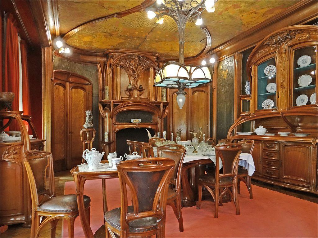 Salle à manger art nouveau (Musée de l\'Ecole de Nancy) | Art ...