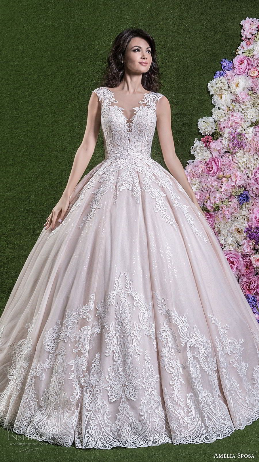 Hayley paige dori wedding dress  Amelia Sposa  Wedding Dresses  Amelia sposa Amelia and Ball gowns