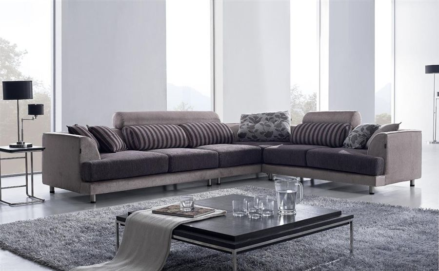 sofa modernos 2017 oversized leather set maximize your modern space with beds living room