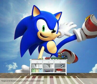 sonic wall mural in 2020 wall murals mural wall art on sonic wall id=59826