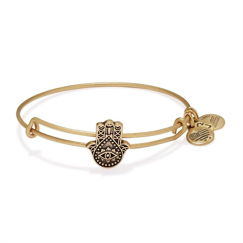 Hand of Fatima Slider Charm Bangle | ALEX AND ANI