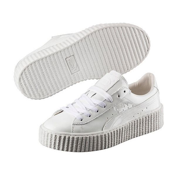 9abe5918ff5 Puma PUMA BY RIHANNA WOMEN S BASKET CREEPER GLO (180 CAD) ❤ liked on Polyvore  featuring shoes