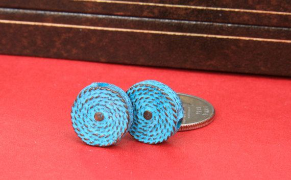 MADE IN GREECE 2 coiled rope beads mykonos coiled by MykonosDream