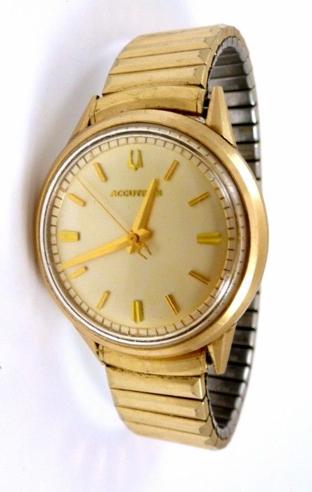 Vintage Bulova Accutron 10k Gold Filled 214 Tuning Fork Watch Bulova Bulova Accutron Beautiful Watches