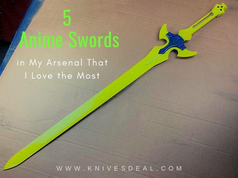 real anime sword replicas