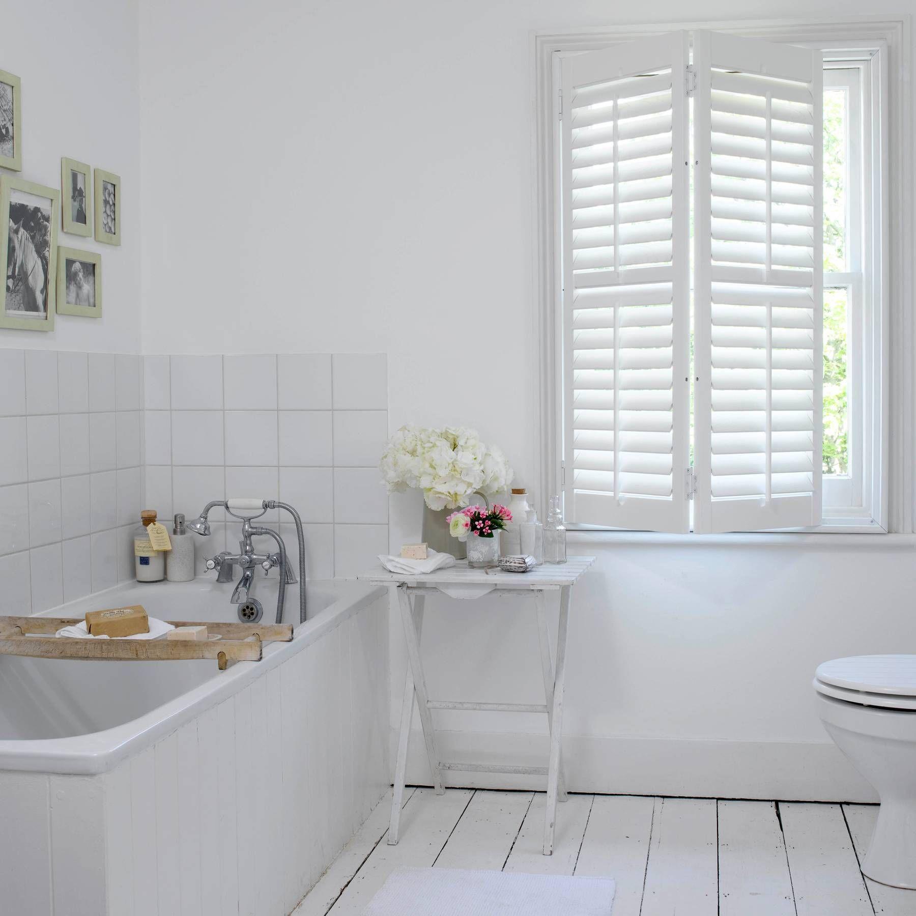 Bathroom ideas (With images) | Wood floor bathroom, White ...
