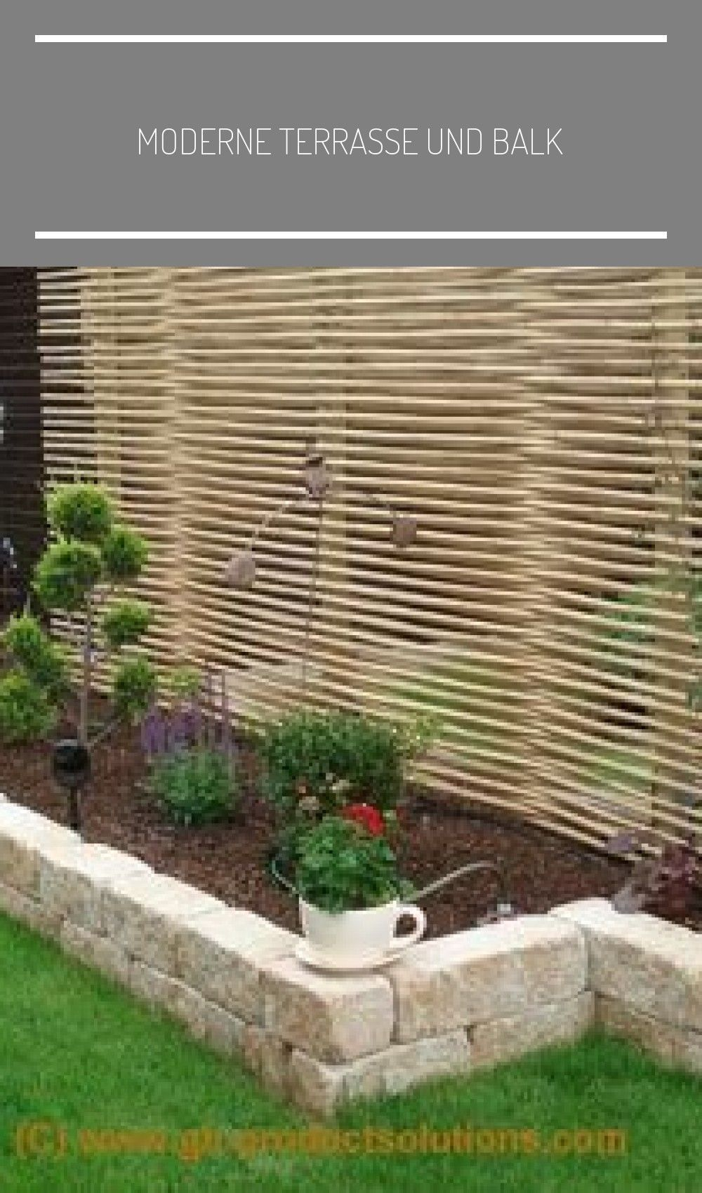 Moderne Terrasse Und Balkon Garten Idee Garten Sichtschutz Terrasse Gunstig Neu 2020 Garten Balkon