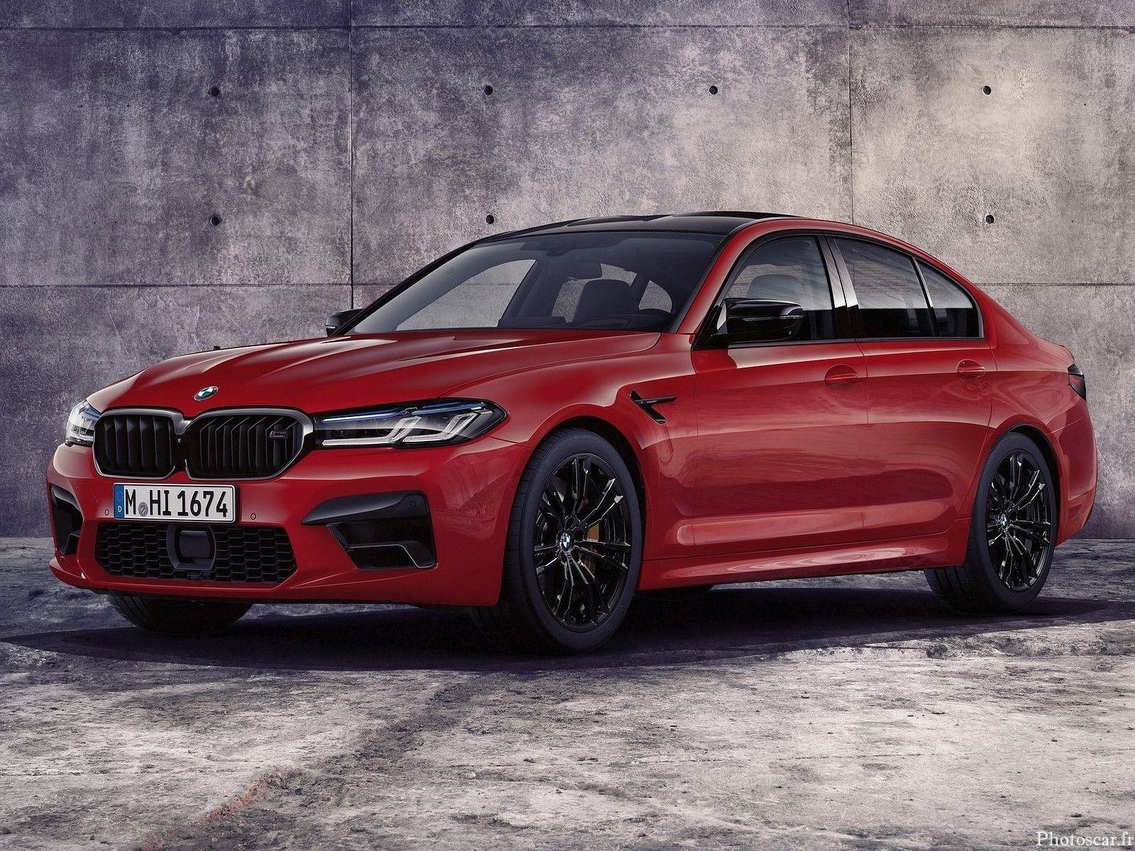 BMW M5 Competition 2021 propulsés par un V8 de 4,4 litres ...