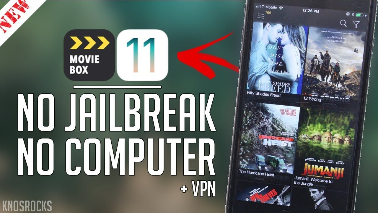 💣 How to download moviebox without jailbreak ios 11 | How To