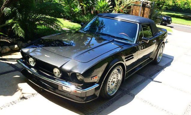 Here S A Supercharged Ls3 Powered Aston Martin Vantage Volante Aston Martin Aston Martin Vantage Classic Aston Martin