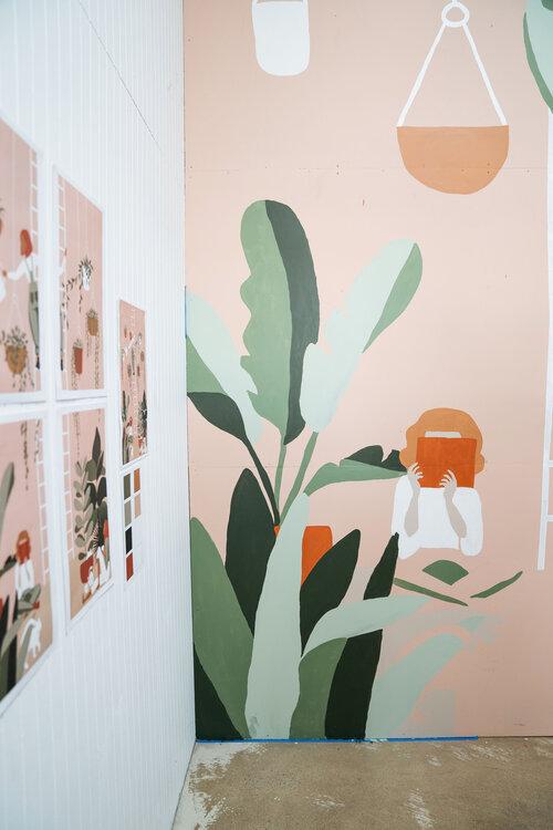 Community Mural  — Open Hands Creative