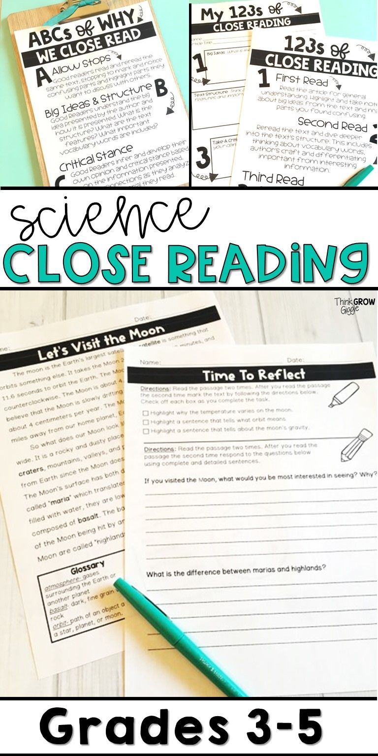 These Informational Science Close Reading Passages Are An Engaging Way To Me Reading Comprehension Passages Comprehension Passage Science Reading Comprehension