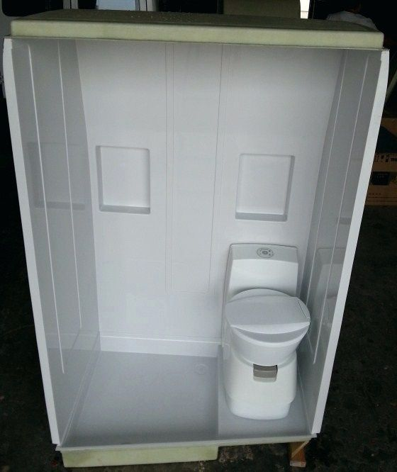 Pop Up Camper Toilet Shower Combo For Remodela Mi