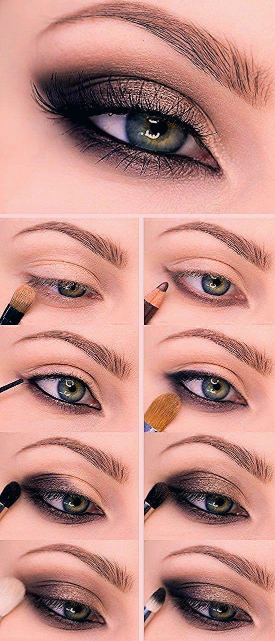 Photo of Einfache Smokey Eye Make-up Tutorial für Anfänger gewidmet Schritt für Schritt