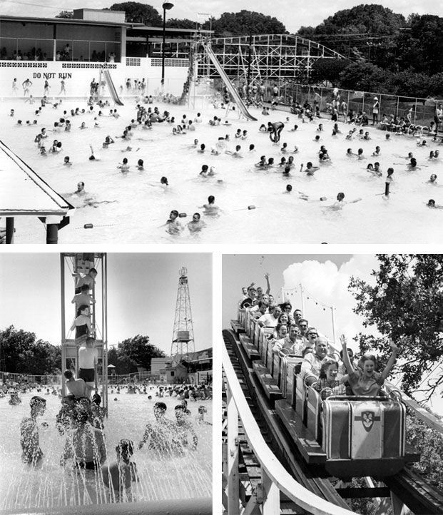 Crowds Swarmed To Springlake Amusement Park Each Summer To