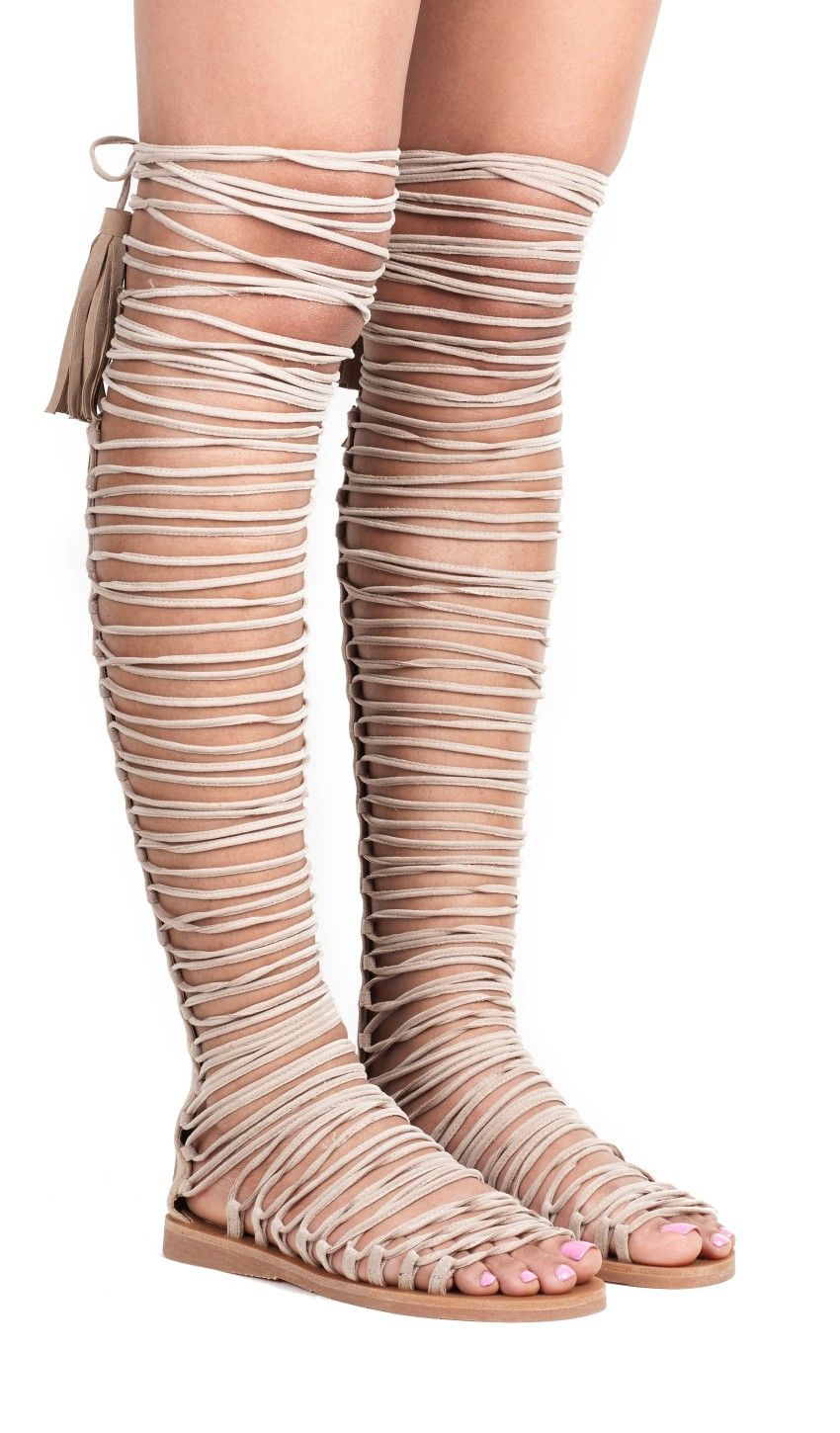 dc2a57c7370 Jeffrey Campbell New Arrivals Everyday    VELARIA in Beige Suede ...