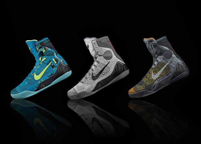 Nike Kobe IX 9 Elite FTB Fade To Black Anthracite Black Mamba