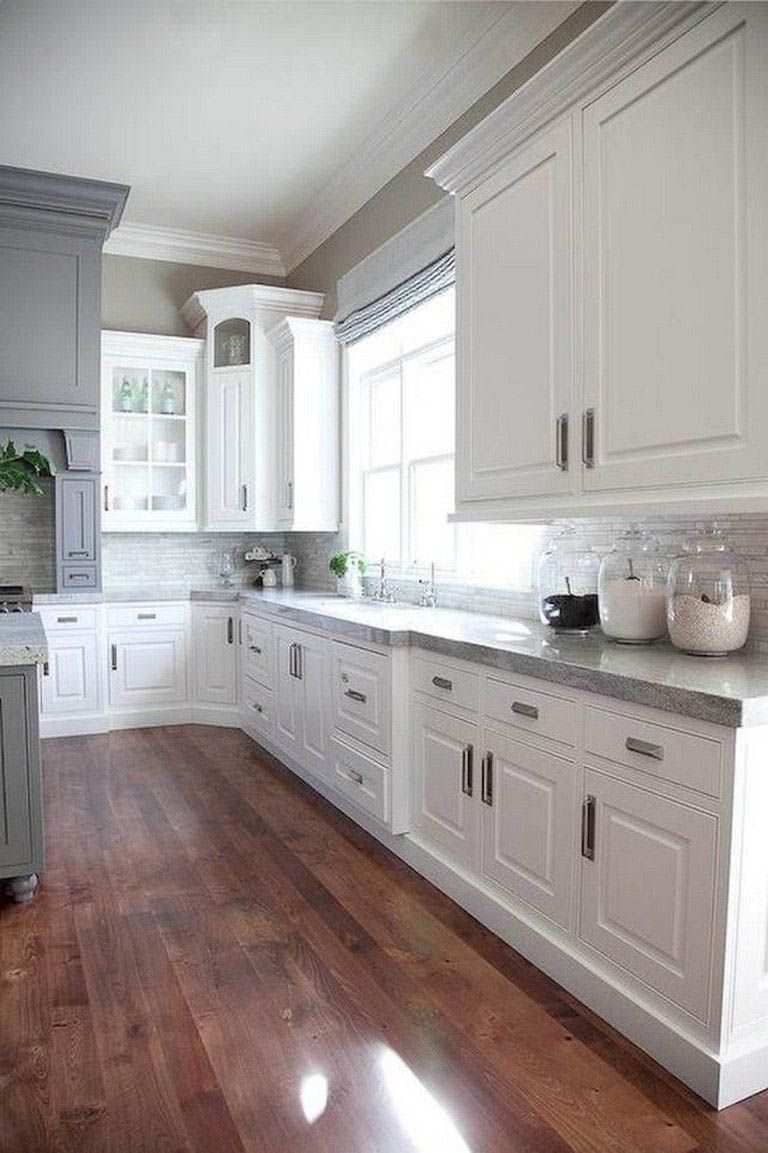 Ways to Style Gray Kitchen Cabinets #graykitchencabinets