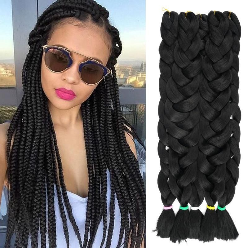 Material Synthetic Hair Item Type Extension Brand Name Silky Strands Style Wavy Model Number Braiding Colors Net Weight 165g Pack