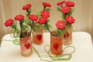 Hermosos floreritos!