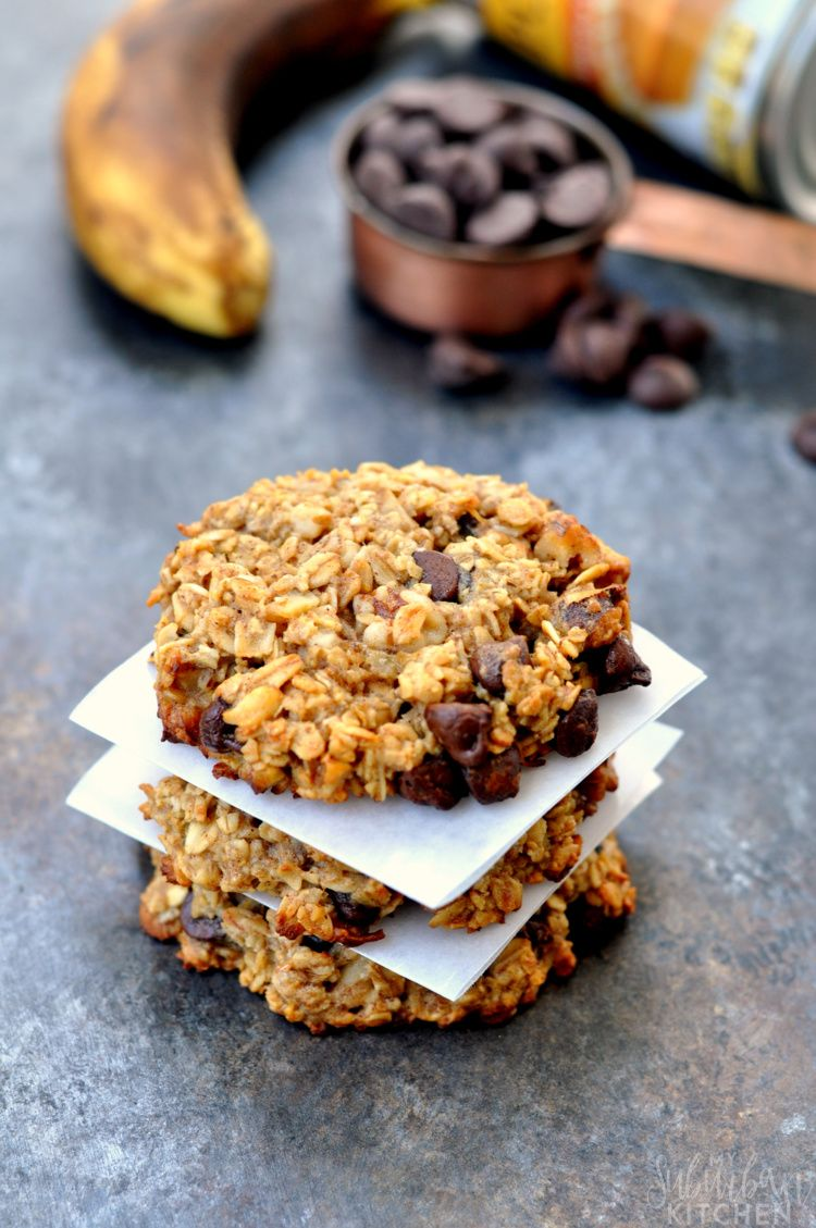 Pumpkin Chocolate Oatmeal Cookies - My Suburban Kitchen