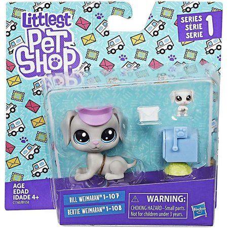 Littlest Pet Shop Bill Weimaran Bertie Weimaran Walmart Com Pet Shop Lps Littlest Pet Shop Lps Pets