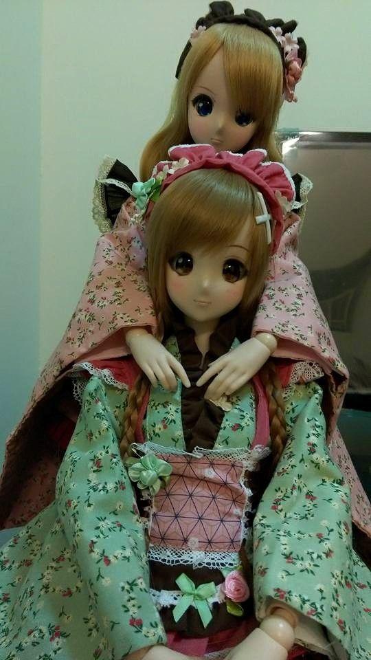 Mirai Suenaga and Kizuna Yumeno Smart Doll by 黃韋鈞