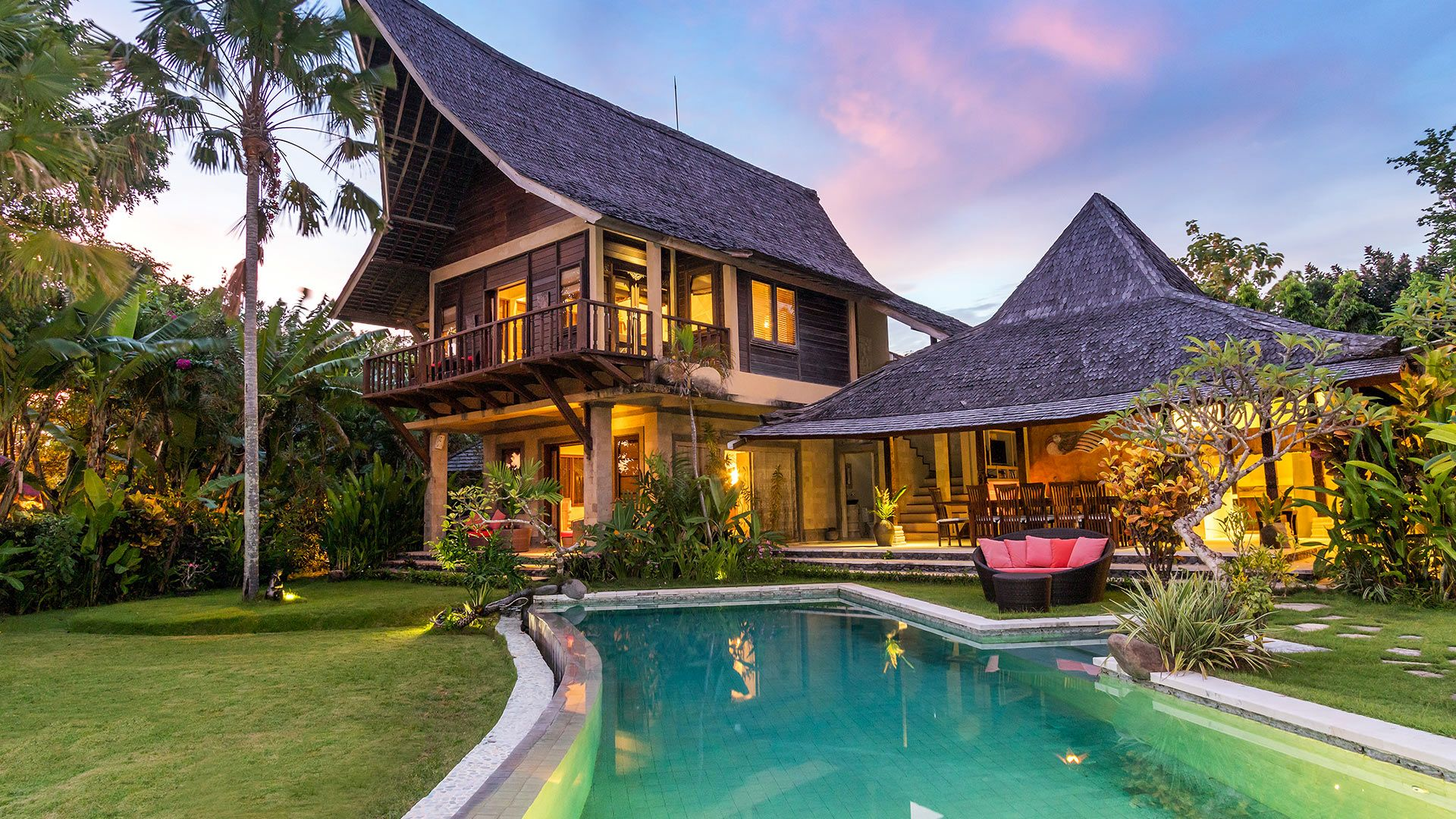 Villa Bunga Desa Bali Fabulous villa 7 bedrooms with