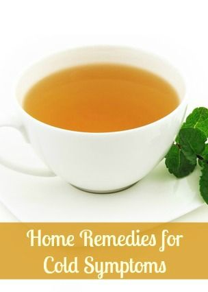 Home Remedies for Cold Symptoms