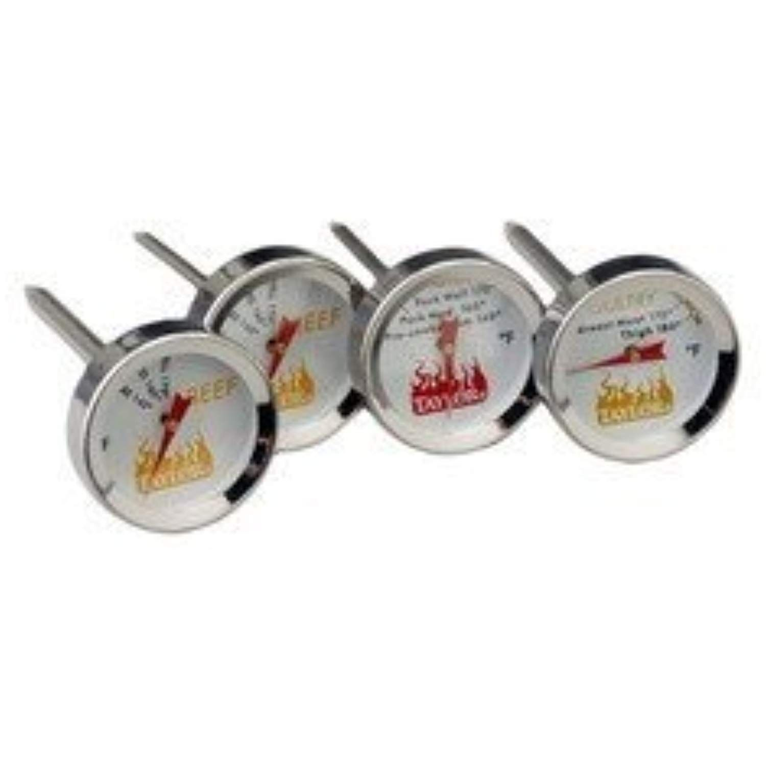 Taylor grilling meat thermometers 4 pc set