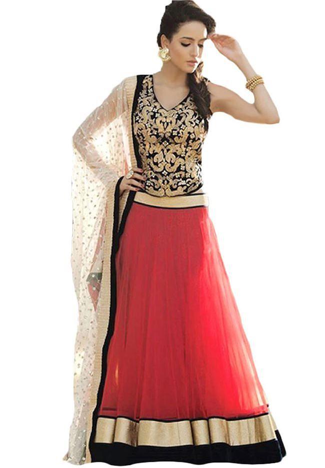 53c9720bcc Top 20 Designer Lehenga Cholis just below Rs. 1000 | Lehenga ...