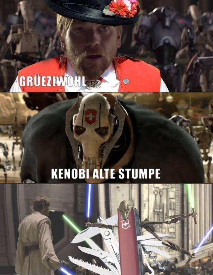 Starwars Meme Lol Kenobi Star Wars Jokes Funny Star Wars Memes Star Wars Humor
