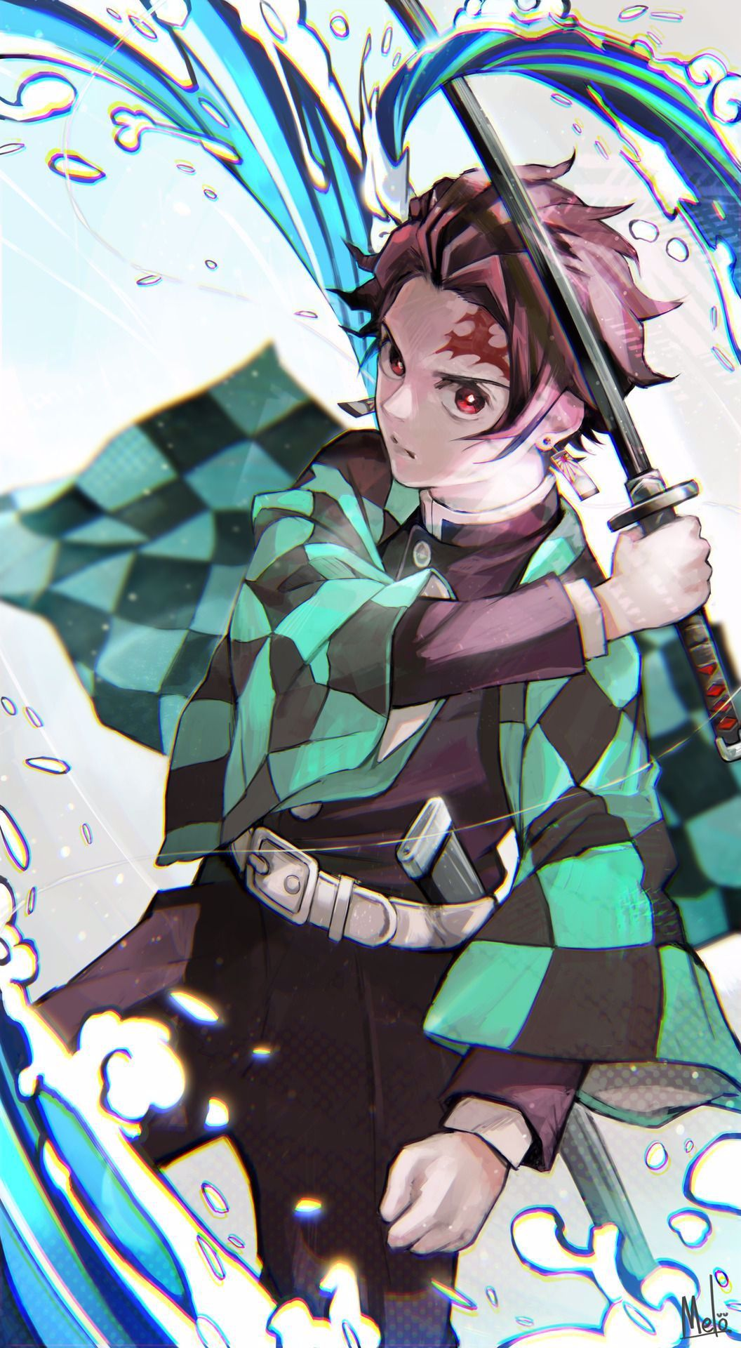 Tanjirou Kamado Demon Slayer Kimetsu No Yaiba By Melo 9ba On Tumblr In 2020 Anime Demon Anime Anime Images