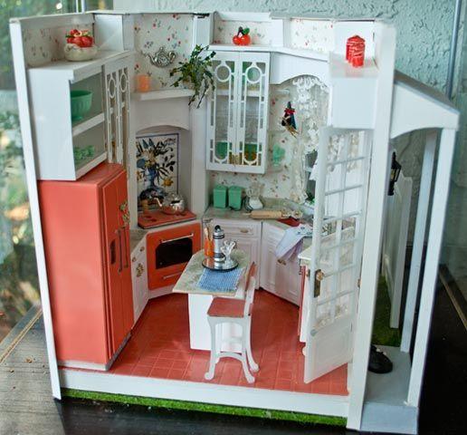 Ron S Miniatures Orlando Fl Kitchen Mini Dollhouse Interiors