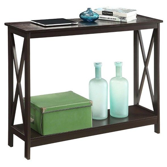 Oxford Console Table Espresso Espresso Johar Furniture