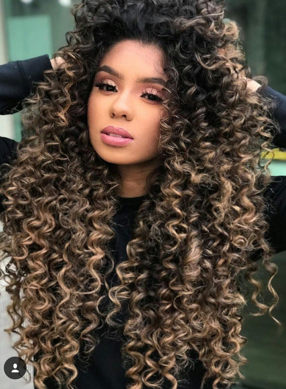 pin by denise carter on long kutz in 2019 | curly hair
