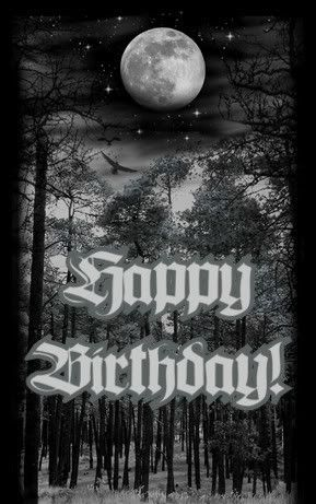 Funny Goth Birthday Greeting Google Search Cool Birthday Cards