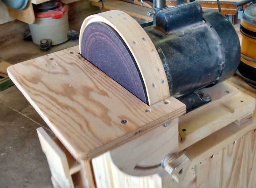 10 Disc Sander Wood Crafting Tools Homemade Tools Woodworking