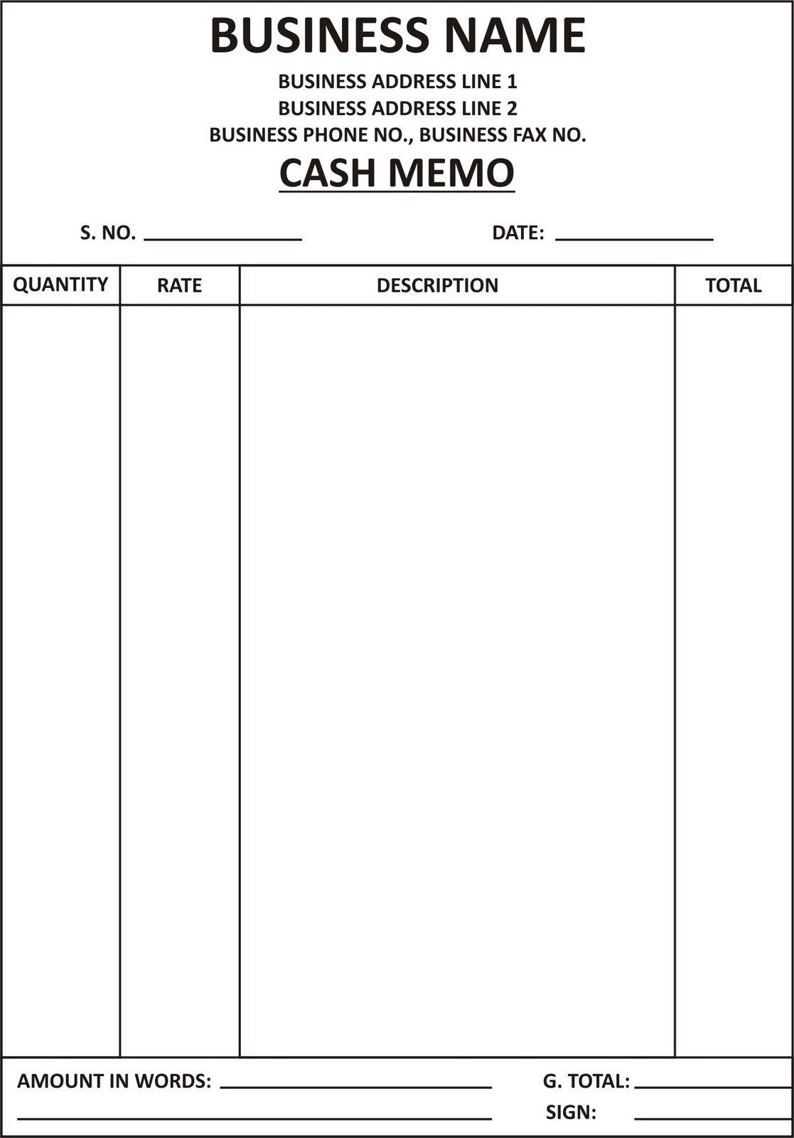 Image Result For Bill Format Invoice Format Invoice Design Template Invoice Design