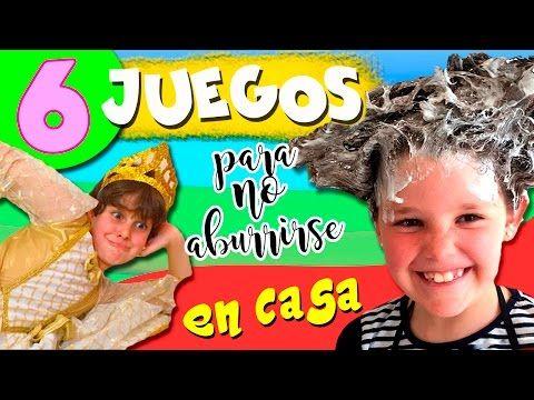 Juegos Caseros Diy 6 Ideas Para No Aburrirse En Casa Youtube