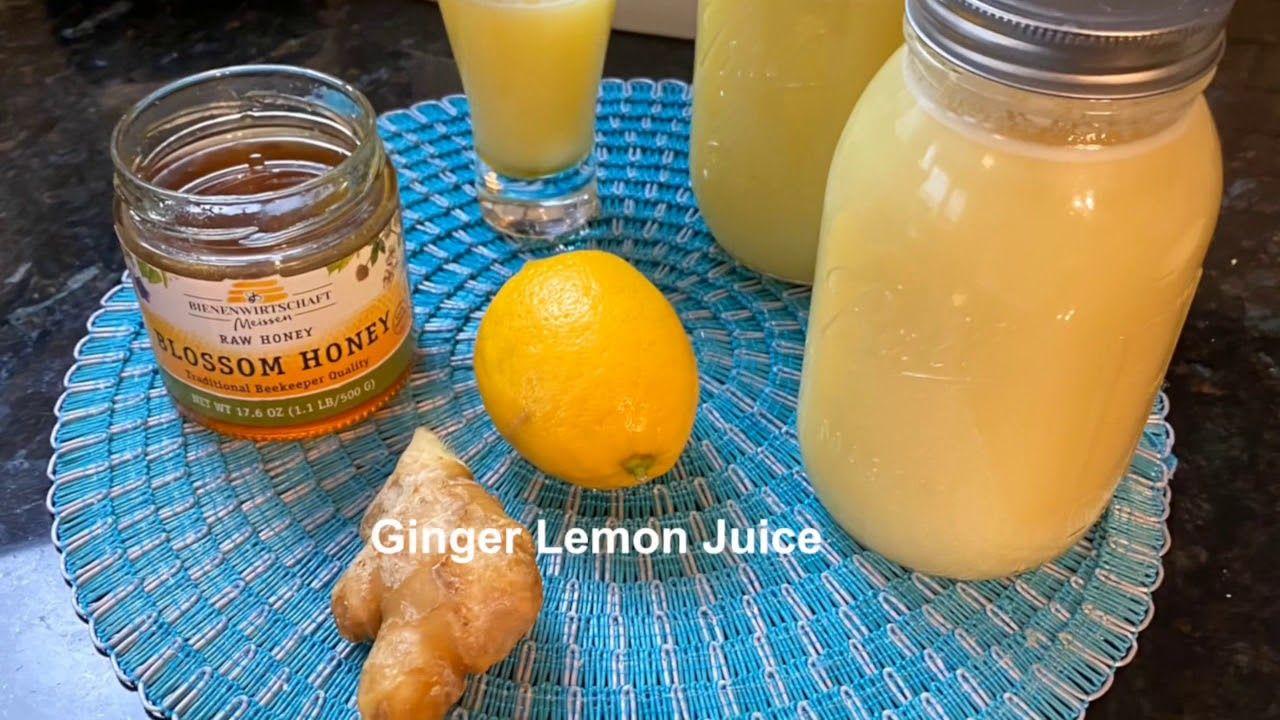 محاربة الفيروس و تقوية المناعة من فوائد الزنجبيل Youtube Juice Fruit Ginger