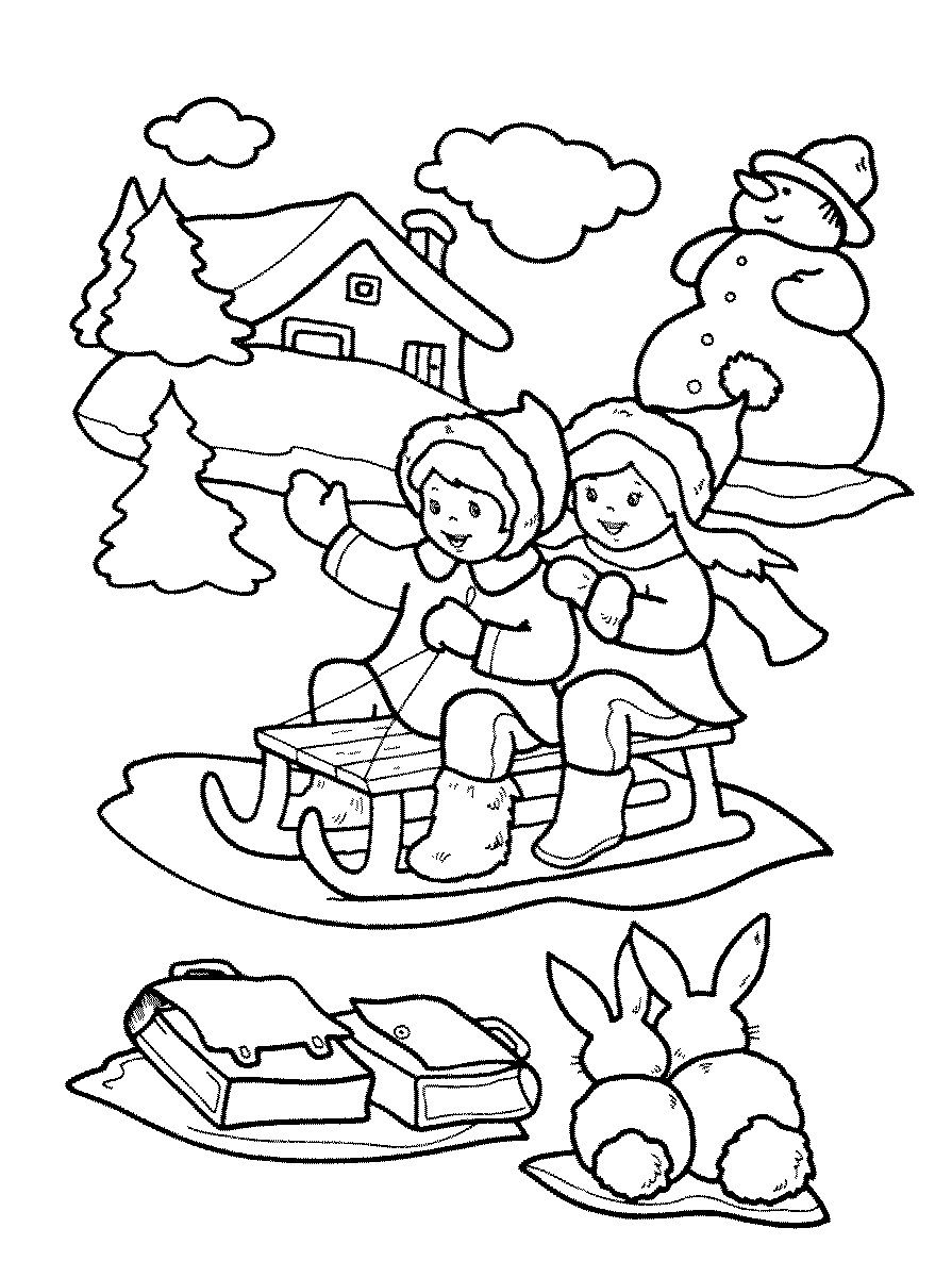 Winter Coloring Pages For Kids Free Printable Winter Coloring Pages Cool Coloring Pages Coloring Pages Winter Christmas Coloring Pages