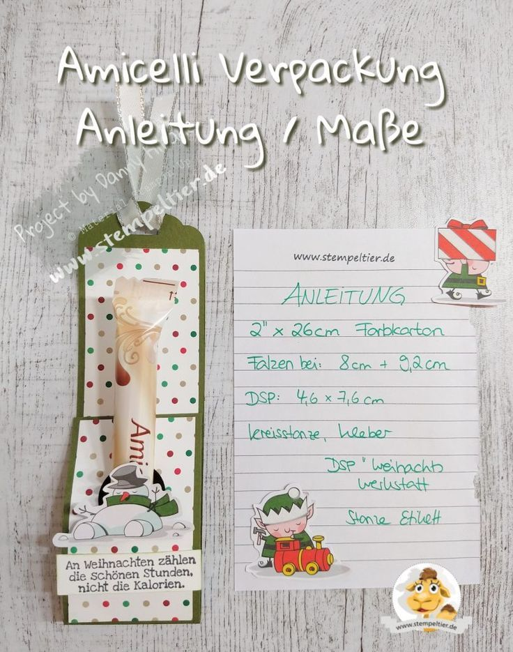 Instructions For The Amicelli Packaging Amicelli Instructions