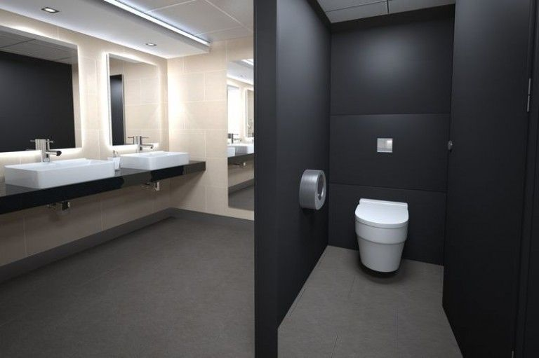 office toilet design office bathroom design with 50 images for toilet pinterest custom - Design Of Toilet Room